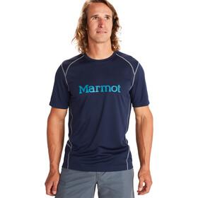 Marmot Windridge Graphic T-shirt Homme, arctic navy